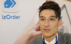 """Xavier Rasmusen, ADSI : """"izOrder est une application de prise de commandes sur tablette"""""""