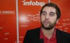 """Stéphane Chatelain : """"Infobip envoie le bon message, au bon moment et par le bon canal"""""""