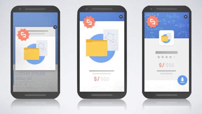 Google va faire la chasse aux publicités interstitielles sur mobile