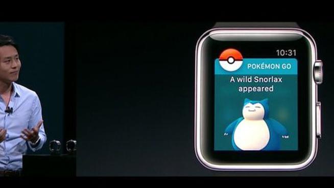 Pokémon Go arrive sur l'Apple Watch