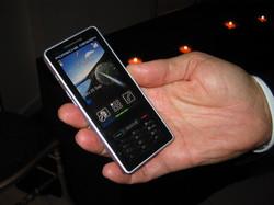 P'9522 : Sagem dévoile son nouveau smartphone tactile