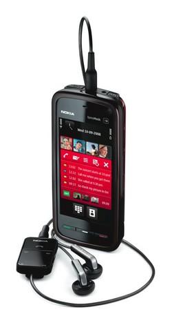 Avec le 5800 XpressMusic, Nokia est de retour dans le tactile