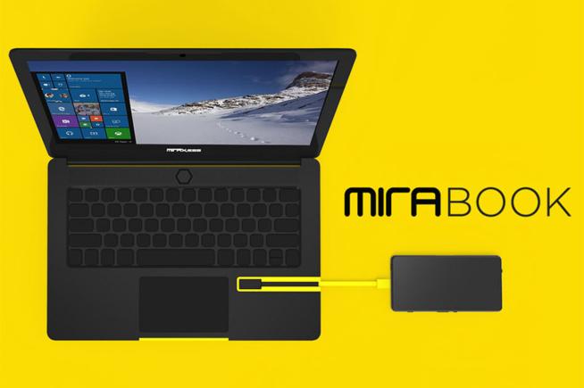 Mirabook : Une extension qui transforme votre smartphone en laptop