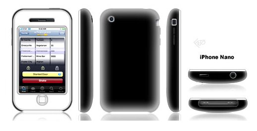 Rumeur sur un iPhone Nano