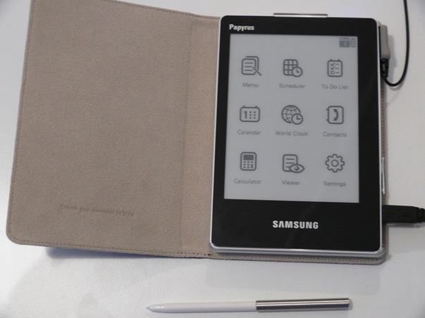 Un lecteur de livrels chez Samsung