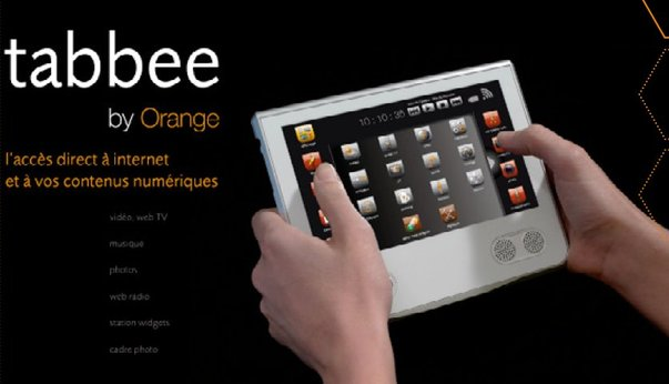 Tabbee, la tablette tactile selon Orange