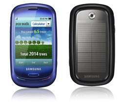 Blue Earth : le mobile écolo selon Samsung