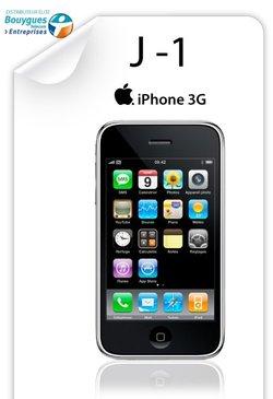 150 000 pré-réservations pour l'iPhone chez Bouygues Telecom