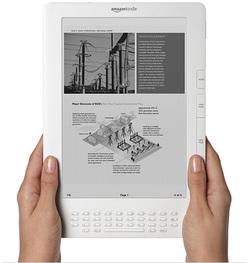 Amazon dévoile le nouveau Kindle DX