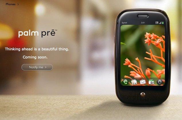 Sprint annonce une rupture de stock pour le Palm Pre