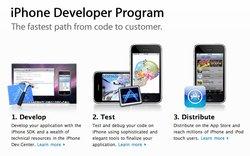 100 000 développeurs pour l'iPhone d'Apple