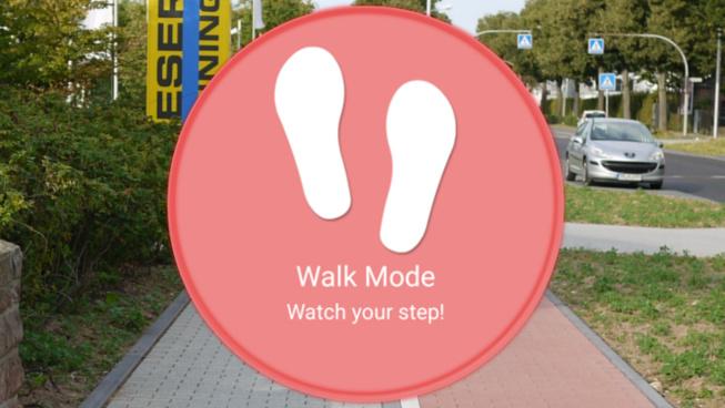 L'application «Walk Mode» de Samsung vous dit quand arrêter de regarder votre téléphone