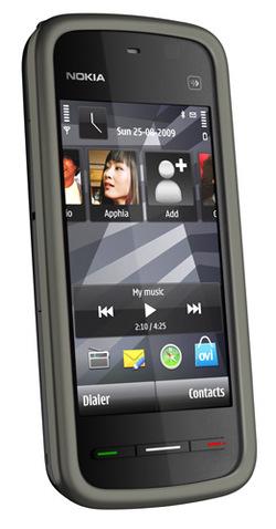 Nokia 5230 : le nouveau musicphone tactile