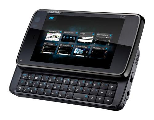 N900 : la nouvelle tablette linux, Wifi et 3G de Nokia