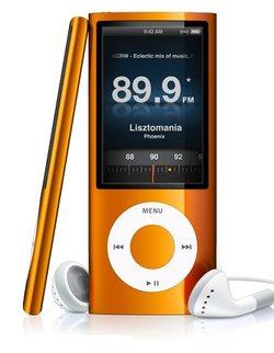 Radio et Video pour le nouvel iPod Nano