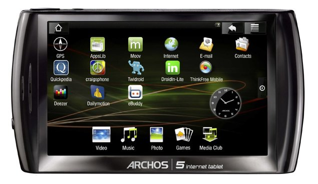 Archos officialise sa tablette Google