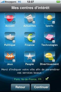 iWebwag : un App Store dans un widget ?