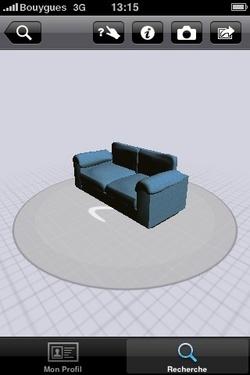 3D et réalité augmentée pour l'iPhone