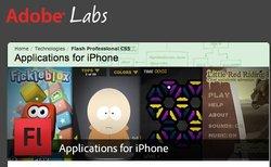 Les développeurs Flash vont pouvoir réaliser des applications iPhone