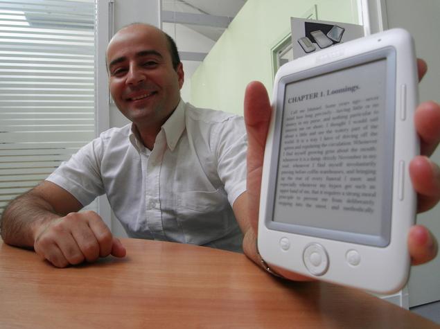 Michael Dahan et le Cybook Opus