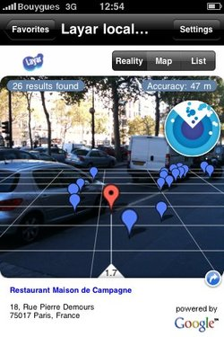 Réalité augmentée : Layar débarque sur iPhone