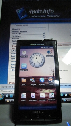Un Xperia X3 sous Android chez Sony Ericsson ?