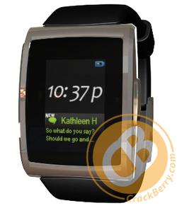 Bientôt une montre pour Blackberry ?