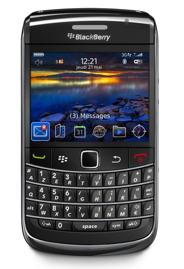 RIM dévoile un nouveau Blackberry Bold, plus petit et plus léger