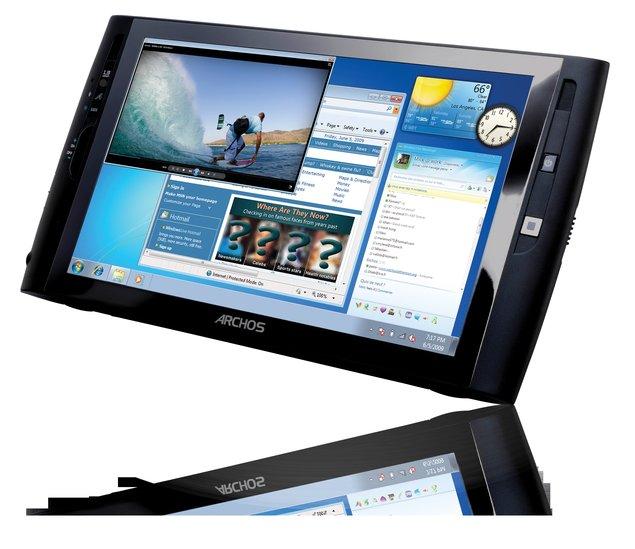 Archos dévoile sa nouvelle tablette sous Windows 7