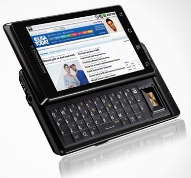 Motorola Droid : les caractéristiques techniques