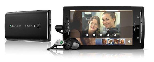 X10 : Premier Google Phone officiel chez Sony Ericsson