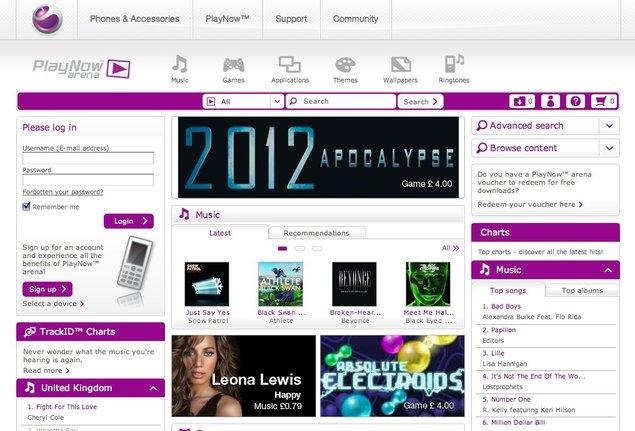 PlayNow Arena devient l'app store de Sony Ericsson