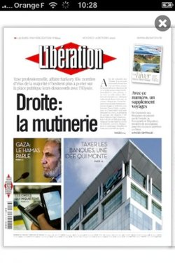 Journal complet pour la future application de Libé