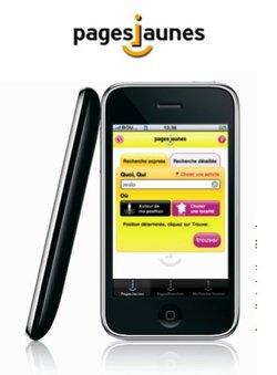 PagesJaunes équipe un iPhone sur deux