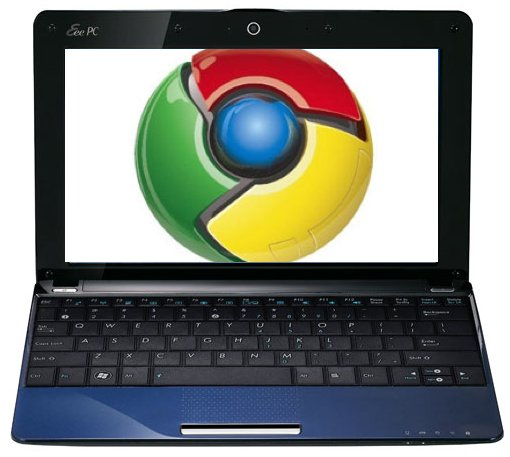 Lancement imminent d'un EeePC sous Chrome OS ?