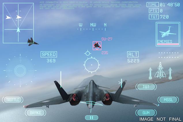 Premier teaser pour Ace Combat Xi