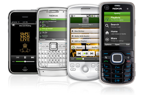 Musique : Spotify s'invite sur la plate-forme Symbian