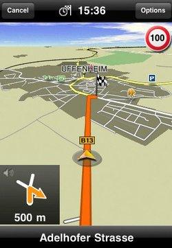 La Navigation en vedette sur l'App Store