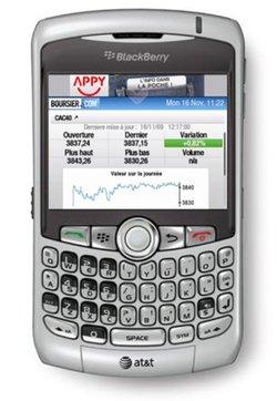 Appy décline son app store sur les Blackberry