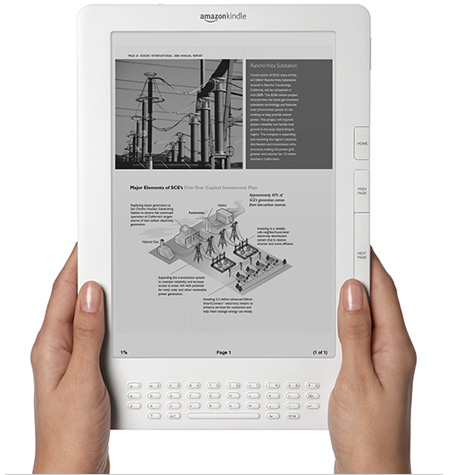 Kindle DX : Amazon prend Apple de vitesse
