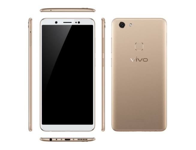 Le Vivo V7 lancé avec une caméra de 24 MP et un écran sans bordure