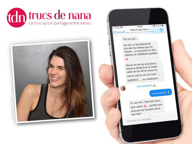 """TDN lance son chatbtot fitness et """"mieux-être"""""""