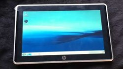 Mystérieuse vidéo d'une tablette HP sous Windows 7