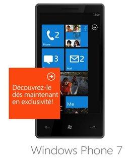 Les Windows Phones 7 attendus le 21 octobre