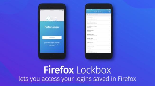Mozilla veut faire de Firefox votre gestionnaire de mot de passe iOS
