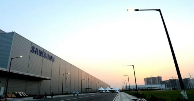 Samsung a ouvert la plus grande usine de téléphones au monde en Inde