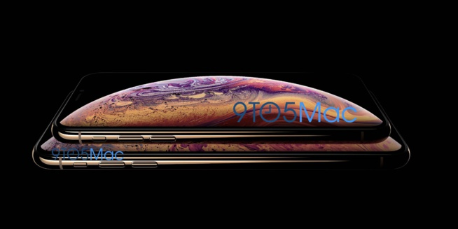 Voici l' « iPhone XS » - design, version plus grande, couleur Or confirmés