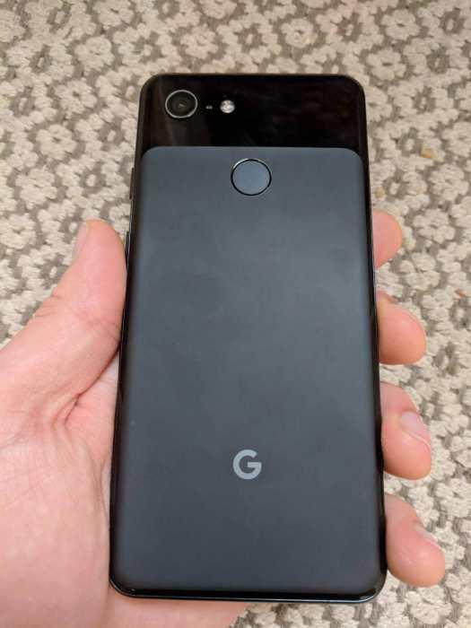 """On a les premières photos """"réelles"""" du petit Google Pixel 3"""