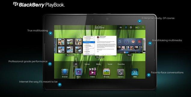 RIM promet un playbook gratuit pour les développeurs US
