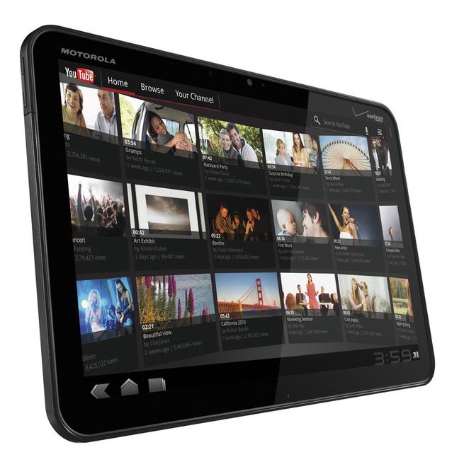 Motorola Xoom, la Google Tablette s'impose au CES'2011